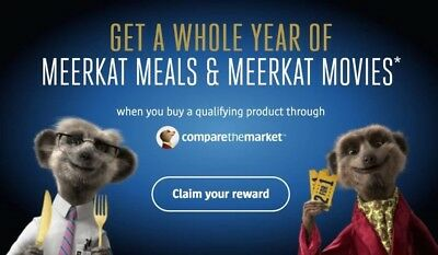 Meerkat Movies and Meals 241 Membership 1 Year