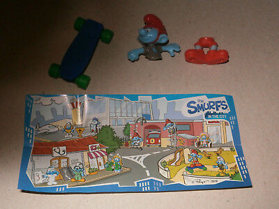 KINDER SURPRISE - Les Schtroumpfs (The Smurfs in the city) / EN375