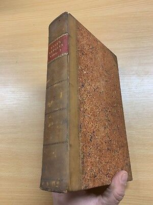 1807 Law Reports Of Cases In Court Kings Bench Large Heavy Leather Marbled Book