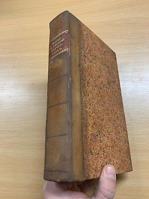 1815 Law Reports Of Cases In Court Kings Bench Large Heavy Leather Marbled Book