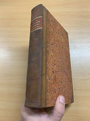 1816 Law Reports Of Cases In Court Kings Bench Large Heavy Leather Marbled Book