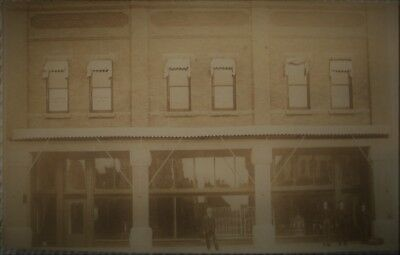 Vintage Early 1900's Real Photo Postcard Doctor Bakers Office Dubuque Iowa RPPC