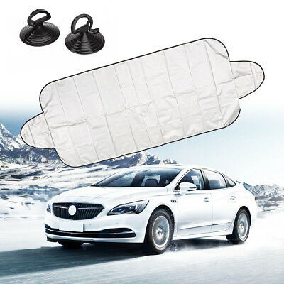 Car Cover Windshield Protector Prevent Snow Frost ice Dust Visor Sun Shade power