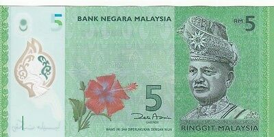MALAYSIA 5 Ringgit Unc Cond (ND2012) BARGAIN!
