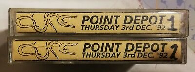 the CURE Live at the Point Depot Dublin 3/12/1992 2 x Bootleg cassette