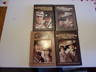 LONESOME DOVE DVD LOT OF 4  lot #5