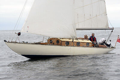 1936 Abeking and Rasmussen 30sqm Classic 'Windfall' Sailing Yacht