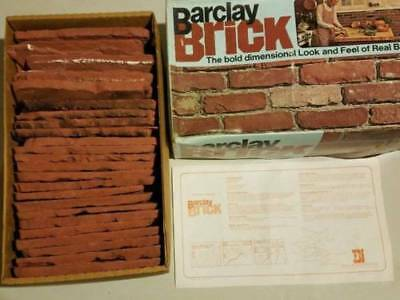 (Repair Your Old Brick Face) Authentic Vintage Brickface Barclay 1970's NEW BOX