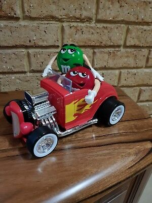 M&m Red Hotrod Collectable