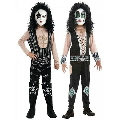 9cac561f128 KISS PAUL STANLEY HALLOWEEN DELUXE ALIVE COSTUME - adult men's size ...