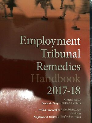Employment Tribunal Remedies Handbook 2017-2018