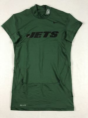 NEW Nike New York Jets - Green Compression Short Sleeve Shirt (Multiple Sizes)