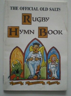 RUDE RUGBY and NAVY SONGS - The Official Old Salts - RUGBY HYMN BOOK from OZ
