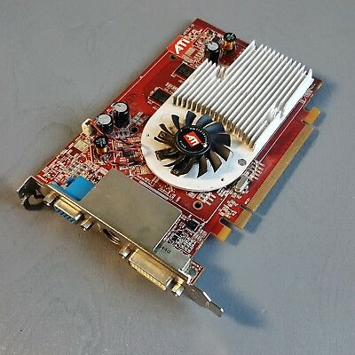 ATI Radeon X1300 Pro 256MB 102A9240221 Video Card DMS-59 TV Out Low Prof.