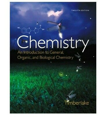 E.BOOK☆Chemistry: An Introduction to General, Organic, and Biological Chem 12e