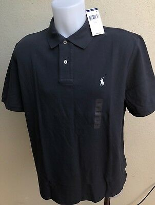 MARQUE POLO RALPH Lauren Homme Polo L Neuf Gris Classic Fit 2019 ... cd104ae7cd6