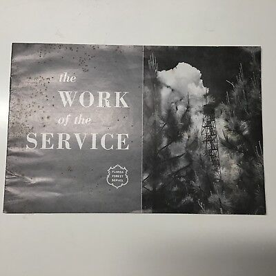 "1960 Florida Forest Service ""The Work of the Service"" Booklet"