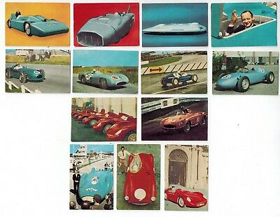 Nestles Car Club  The World on Wheels Collector Cards (1962) High Performance