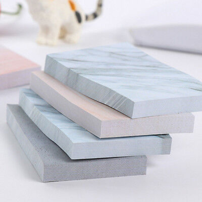 Chic Creative Rectangle Stones Sticky Notes Memo Pad Planner Sticker Stationery