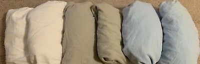 Lot x 6 Fitted Crib Sheets