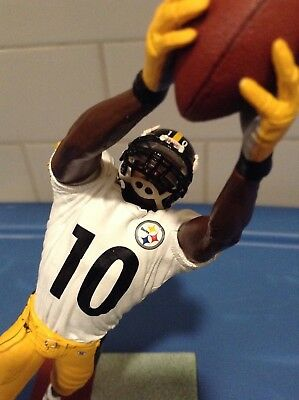 05946eda055 SANTONIO HOLMES  10 PITTSBURGH STEELERS PREMIER HOME FOOTBALL JERSEY  3XLARGE NEW Sports Mem