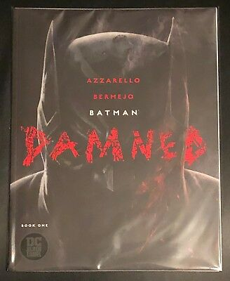 Batman Damned Book One #1 1st Print Uncensored DC Black Label Azzarello Bermejo