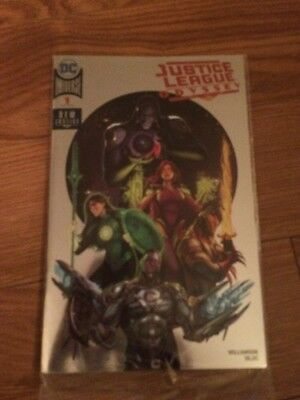 Justice League Odyssey 1 Foil Variant Cover