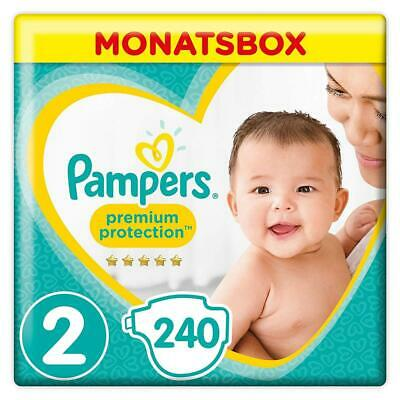 Pampers Premium Protection New Baby Windeln, Gr.2 Mini, 4-8kg, Monatsbox,...