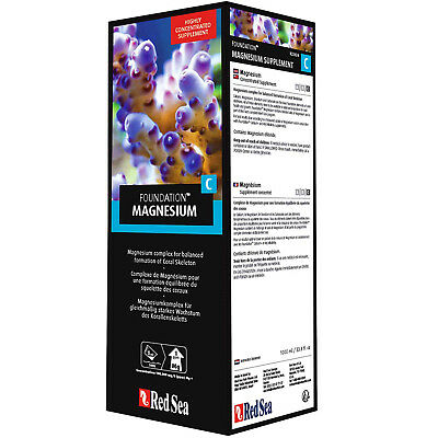 Red Sea Reef Foundation C 1 Liter Magnesium Reef Supplement FREE USA SHIPPING