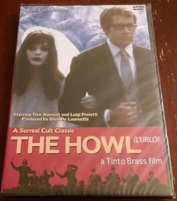 The Howl Tinto Brass Tina Aumont Dvd Brand New Sealed