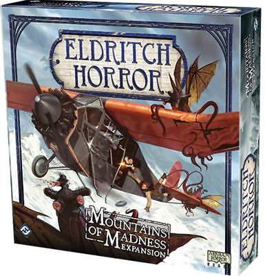 Eldritch Horror Board Game - Mountains Of Madness Expansion
