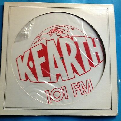 "Various-K-EARTH-1O1 FM- 12"" PIC DISC-1978 Columbia PROMO ONLY- M-./M- UNPLAYED"