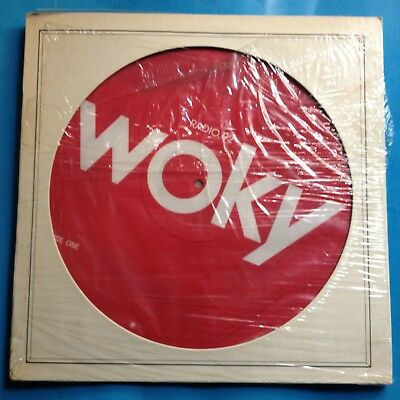 "Various-WOKY Radio 92-12"" PIC DISC-1978 Columbia PROMO ONLY- M-./M- UNPLAYED"