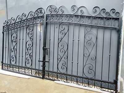 Wrought Iron Double Swing Gate to fit 4.2-4.3m available now