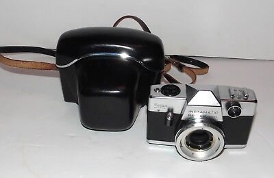 Kodak Instamatic Reflex 35mm Camera Body w/Case - FREE S&H