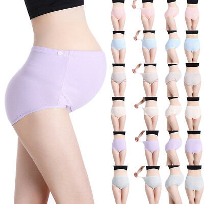 Maternity Panties Briefs Belly Knickers Pregnant Underpants Womens Breathable AU