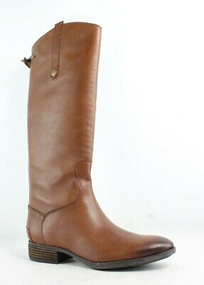 f35bf7069 New Sam Edelman Womens Penny Whiskey Leather Riding