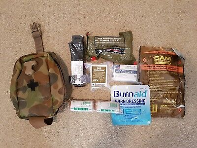 Auscam  hunting / Military First Aid Kit IFAK /W Medical stores pouch