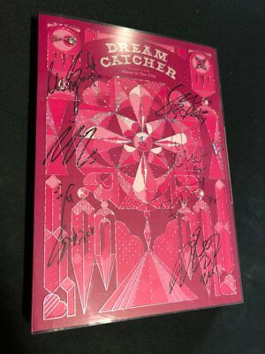 DREAM CATCHER [Alone In The City] Album Signed PROMO ALBUM KPOP signature(10/27)