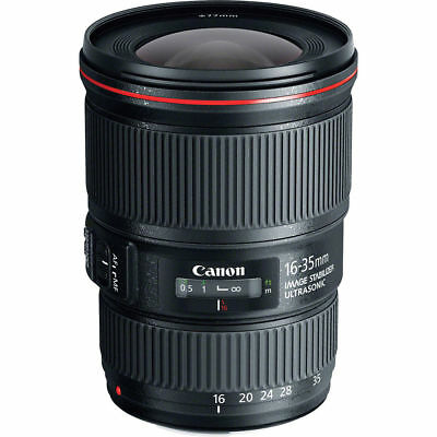 Canon EF 16-35mm f/4L IS USM Lens BRAND NEW IN BOX