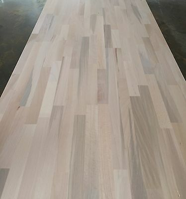Rustic Solid Beech Worktop, 30-40mm staves, Real Wood Worktops, Cheapest in UK