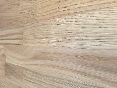 Solid Oak Wood Worktop, 35mm staves, Hard Timber, beech,walnut, also in stock