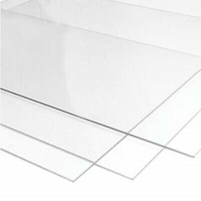 Clear 1mm A4 PETG Plastic Sheet - Model Making - Crafts - Printing - Multipack
