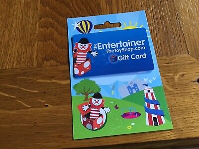 £10 gift card for the Entertainer toy shop