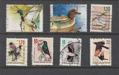 ISRAEL  BIRD STAMPS USED .Rfno.C337.