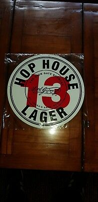 Hophouse 13 Lager Metal Sign