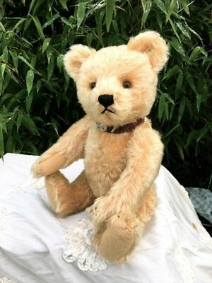 Antique / Vintage 15 inch German Steiff Teddy Bear with button 1950's
