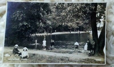 Very Old Real photo Postcard of WANSTEAD PARK London