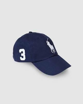 Polo Ralph Lauren Baseball Cap Blue White One Size Adults Unisex Clearance Sale