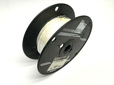 Alpha Wire 5859/10 White Wire, 10 AWG 37/26, 100 FT, DOM: 0205, 200C 600V